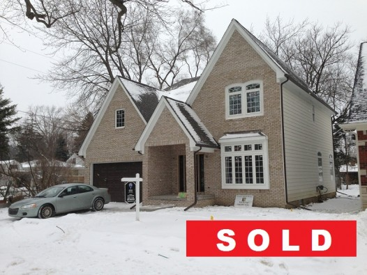 Sold  Front of 121 Windemere