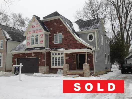 Sold Front of 125 Windemere