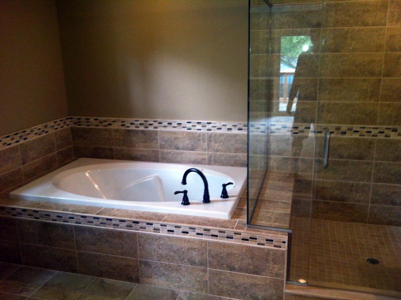 how to build a custom bathtub